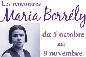 Les rencontres Maria Borrely