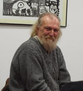 André Bucher à Digne-les-Bains en décembre 2018