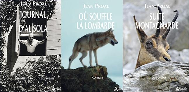 réédition de 3 livres de Jean Proal par les éditions Atlande
