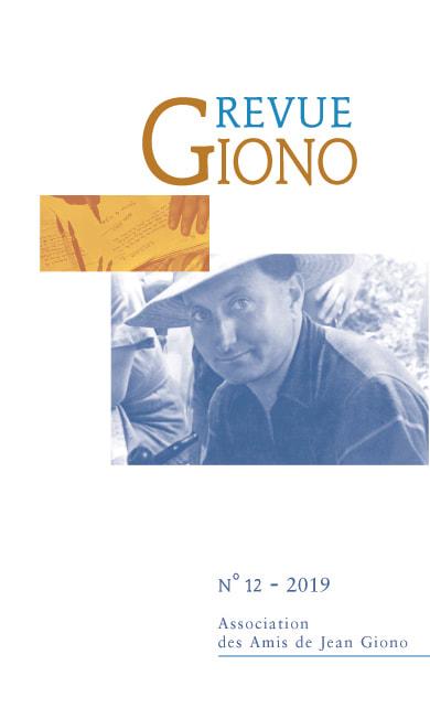 Revue Giono n°12 - juin 2019