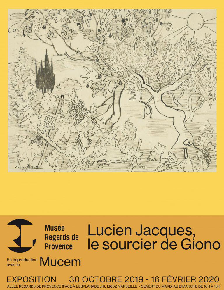 Exposition Lucien Jacques le sourcier de Giono