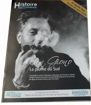 Jean Giono dans La Provence Histoire