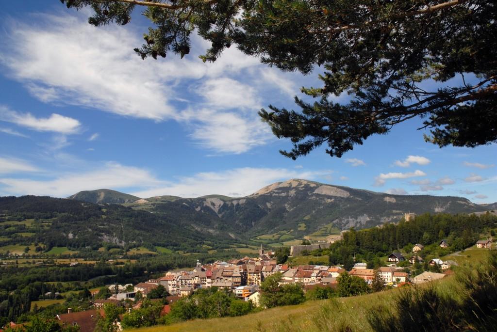 Village de Seyne-les-Alpes ©AD04-Philippe Leroux