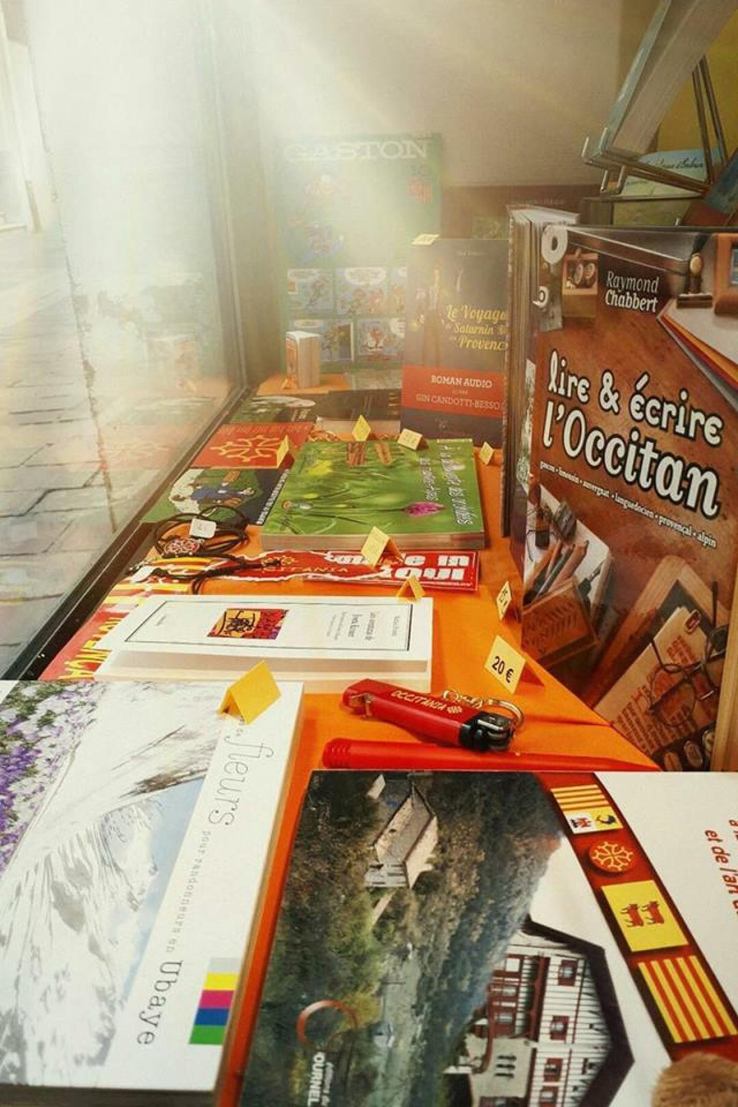 Librairie Espaci Occitan dels Aups
