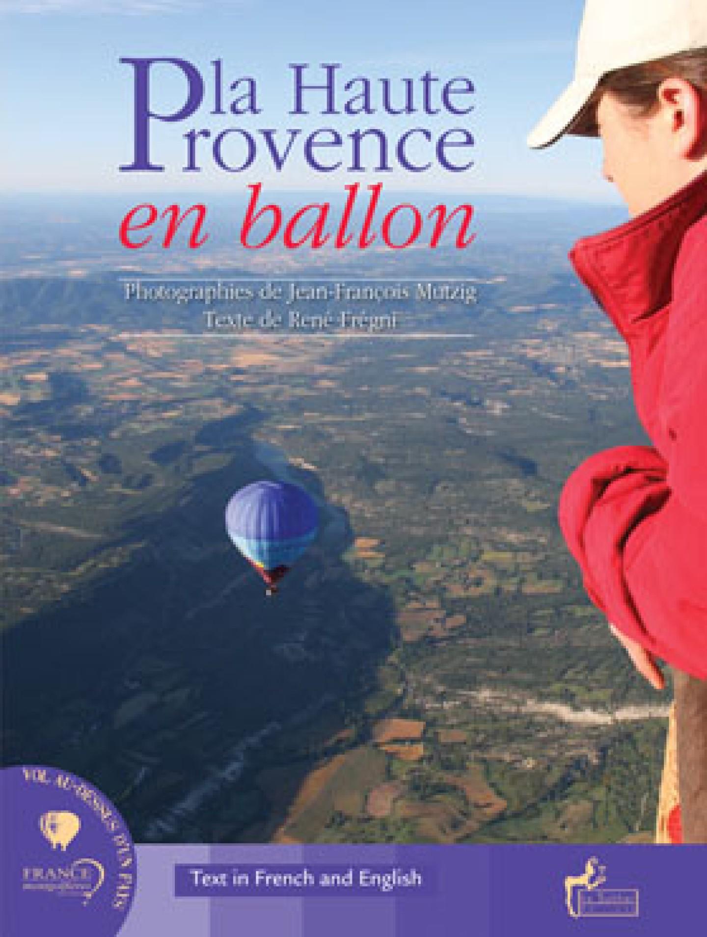 Couverture du livre La Haute-Provence en ballon