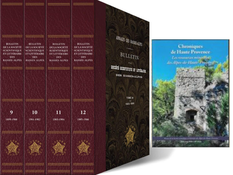 Les ressources minérales des Alpes de Haute-Provence par Dominique Artignan