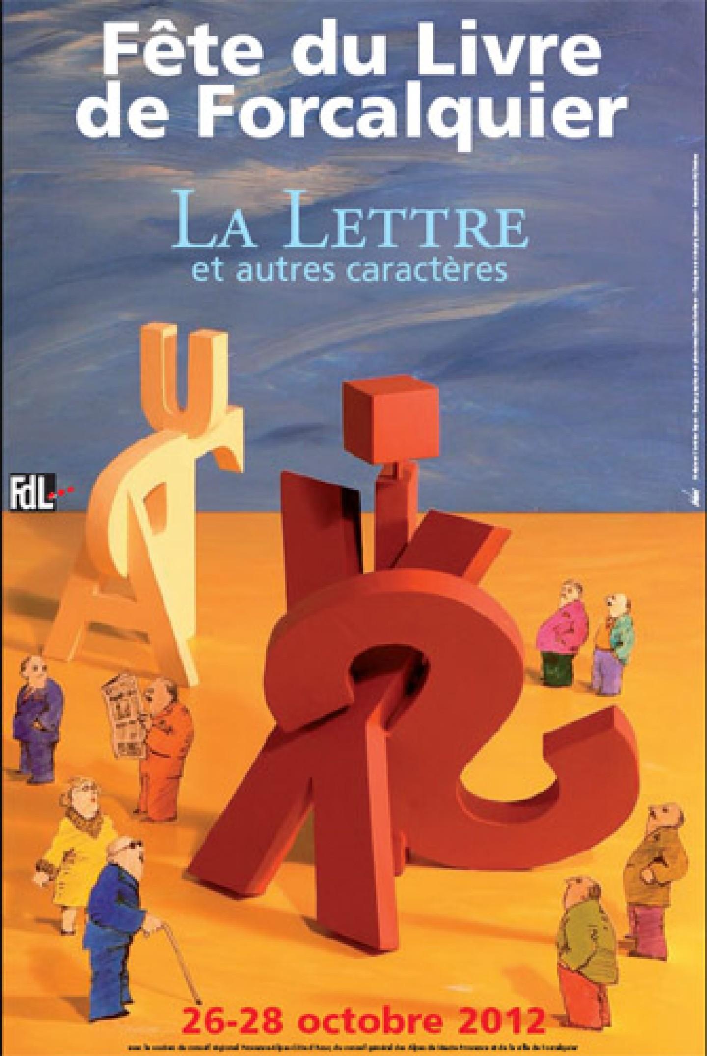 Fête du livre 2012 à Forcalquier