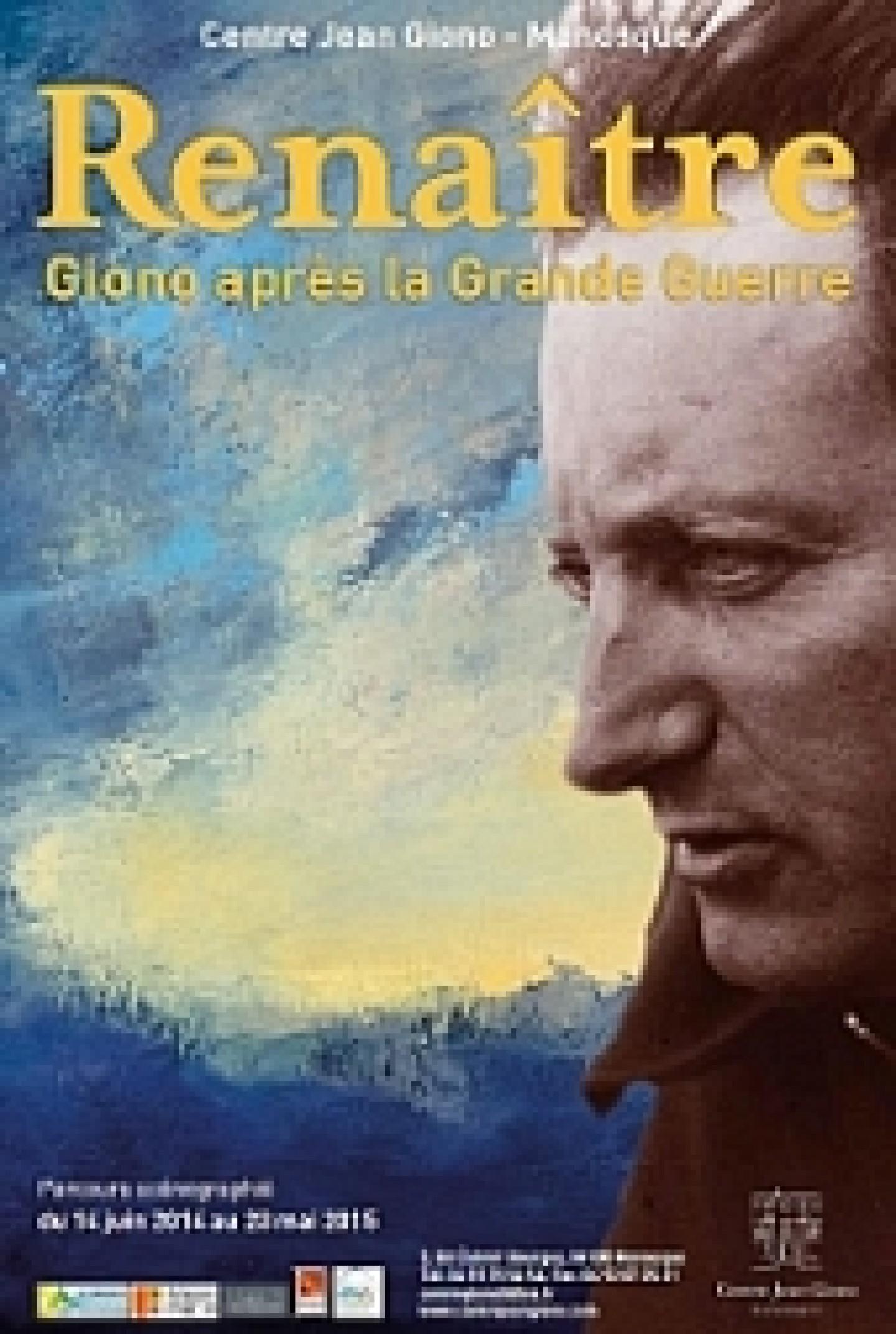 nouvelle exposition : « Renaître. Jean Giono après la Grande Guerre ».