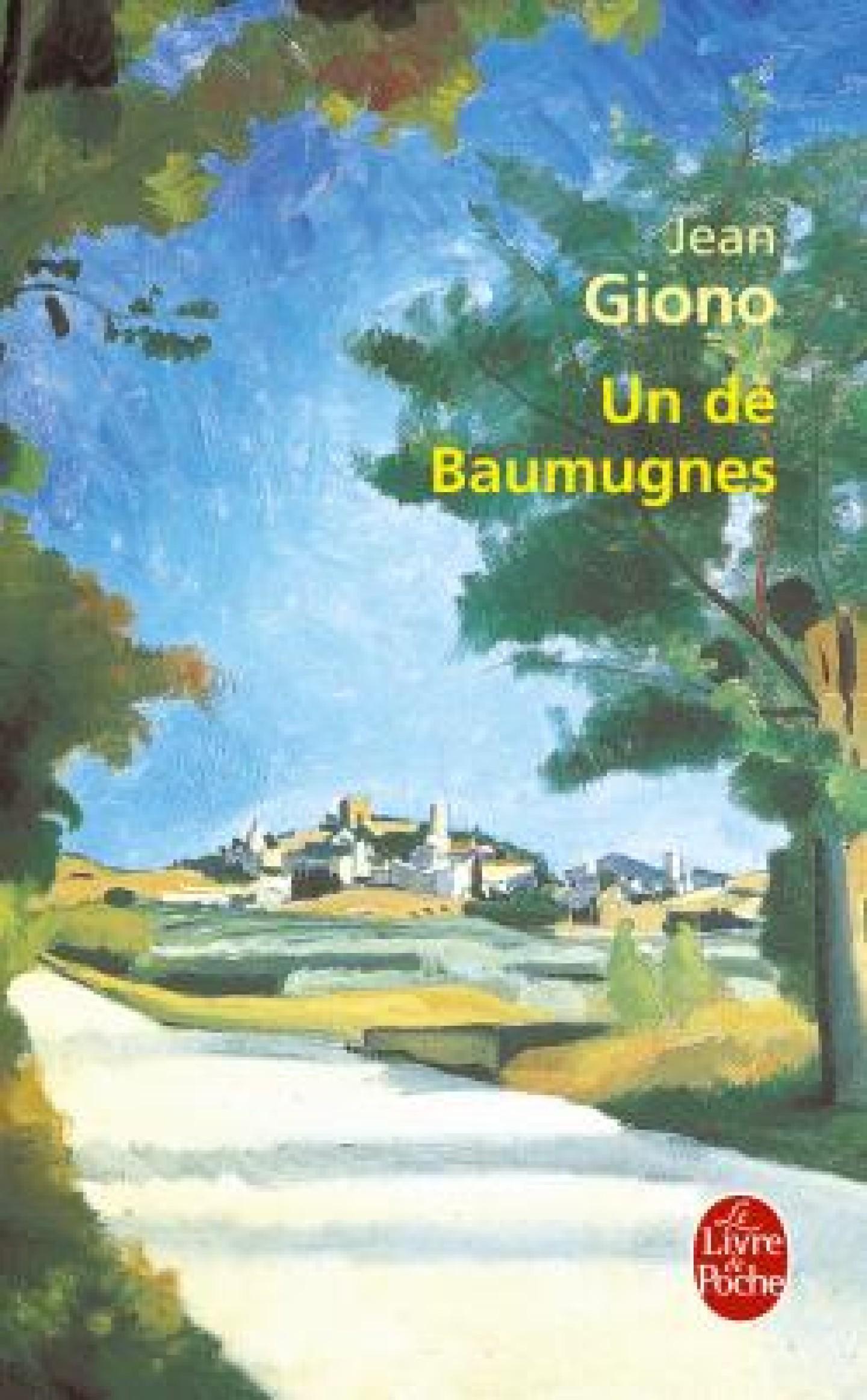 Couverture du roman Un de Baumugnes de Jean Giono