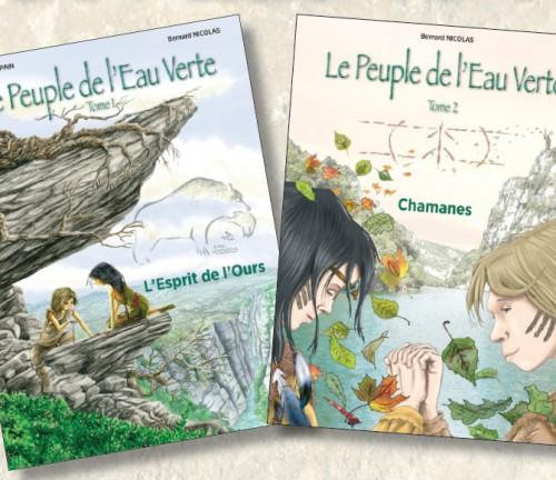 BD Le Peuple de l'Eau Verte de Bernard Nicolas