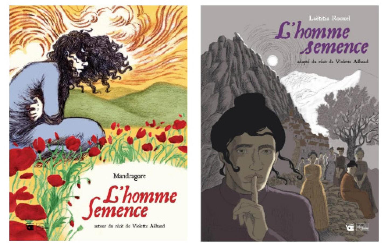 Bande dessinée « L'homme semence » par Mandragore et Laetitia Rouxel