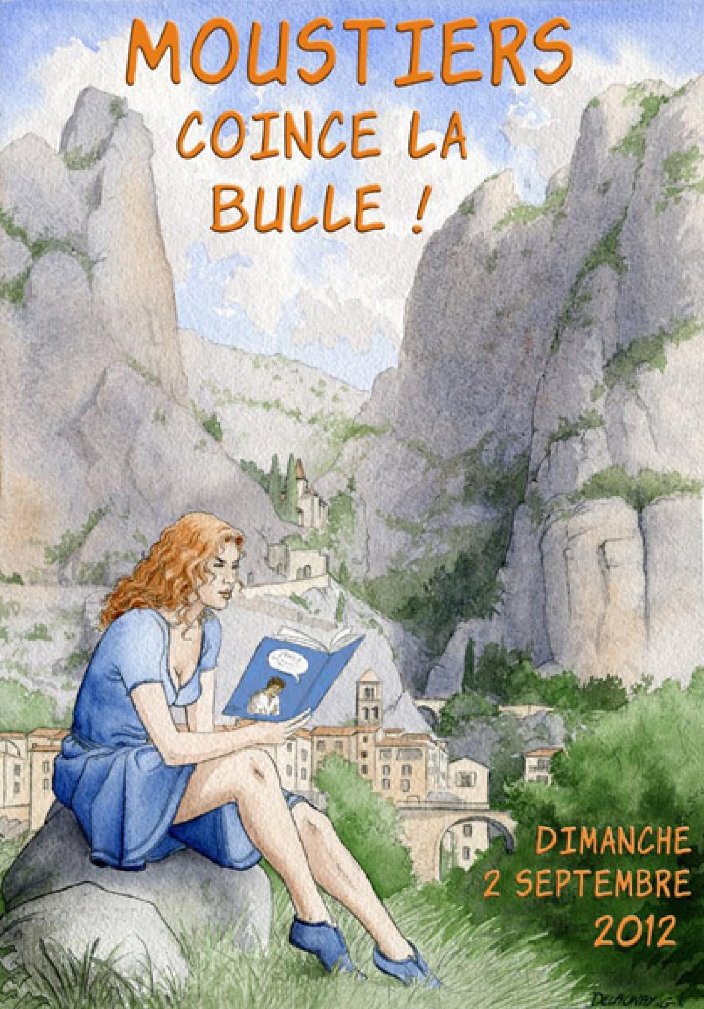 Moustiers coince la bulle à Moustiers-Sainte-Marie
