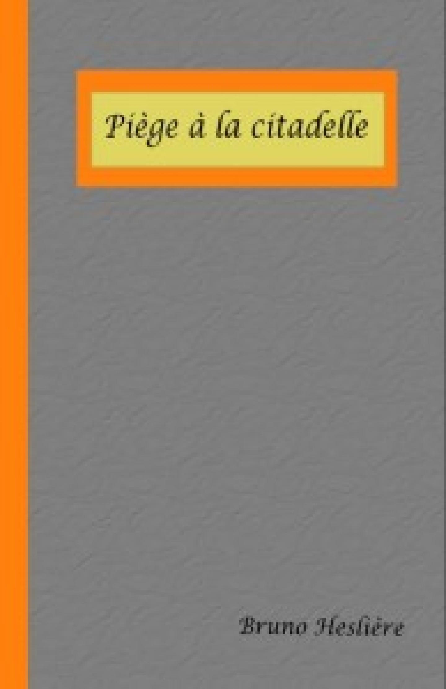 Piège à la citadelle roman de Bruno Heslière