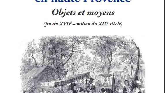 Le commerce en haute Provence de Eric Fabre