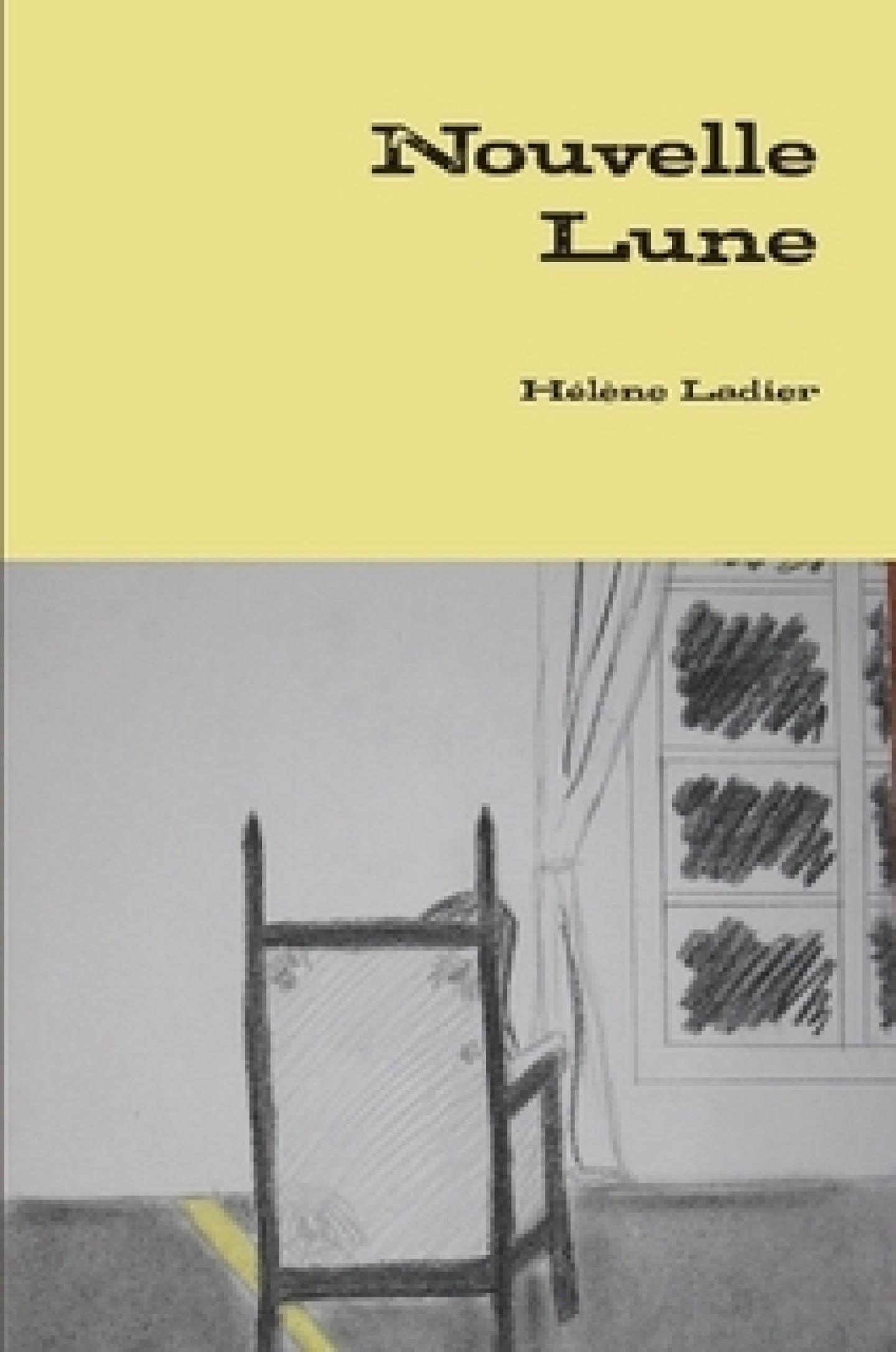 roman Nouvelle lune de Hélène Ladier, jeune écrivain vivant à Manosque