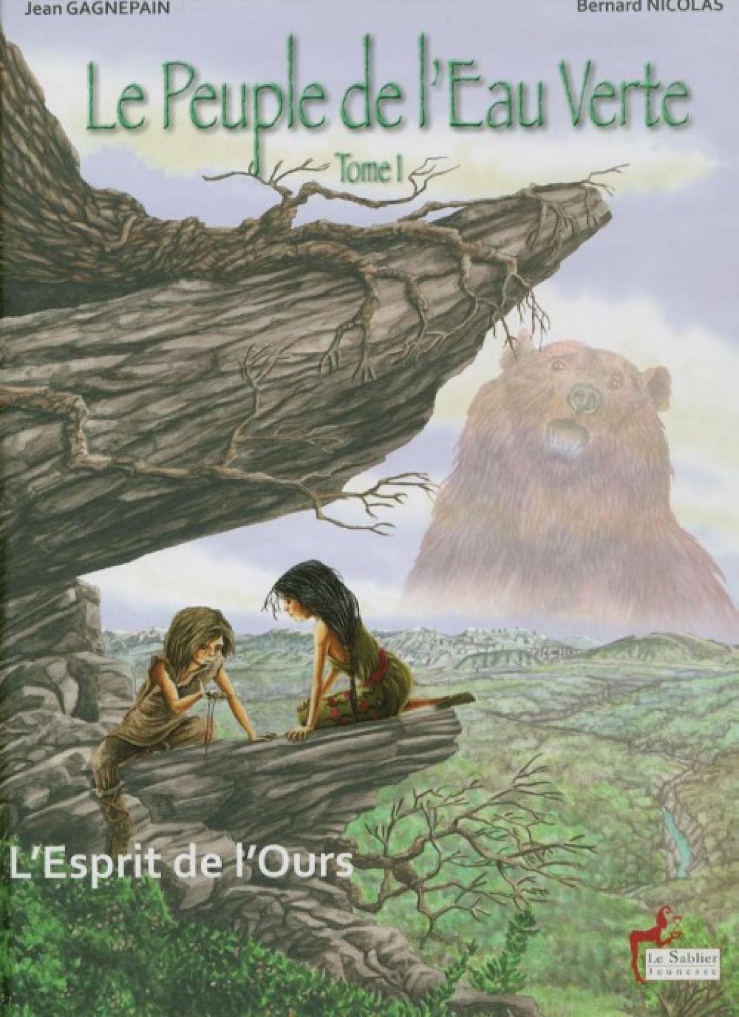 Le peuple de l'eau verte, Tome 1 : L'Esprit de l'ours (bande dessinée)