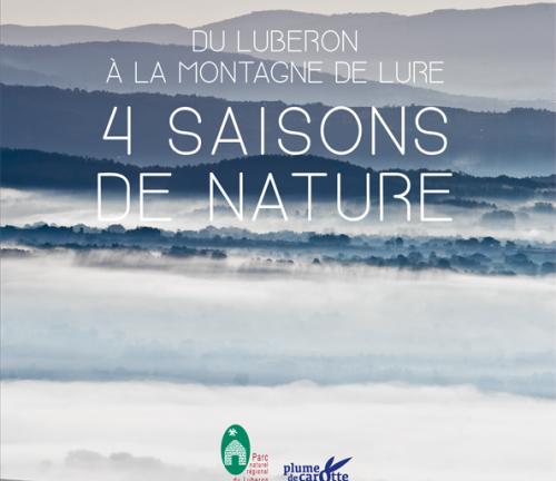 Du Luberon à la montagne de Lure, 4 saisons de nature