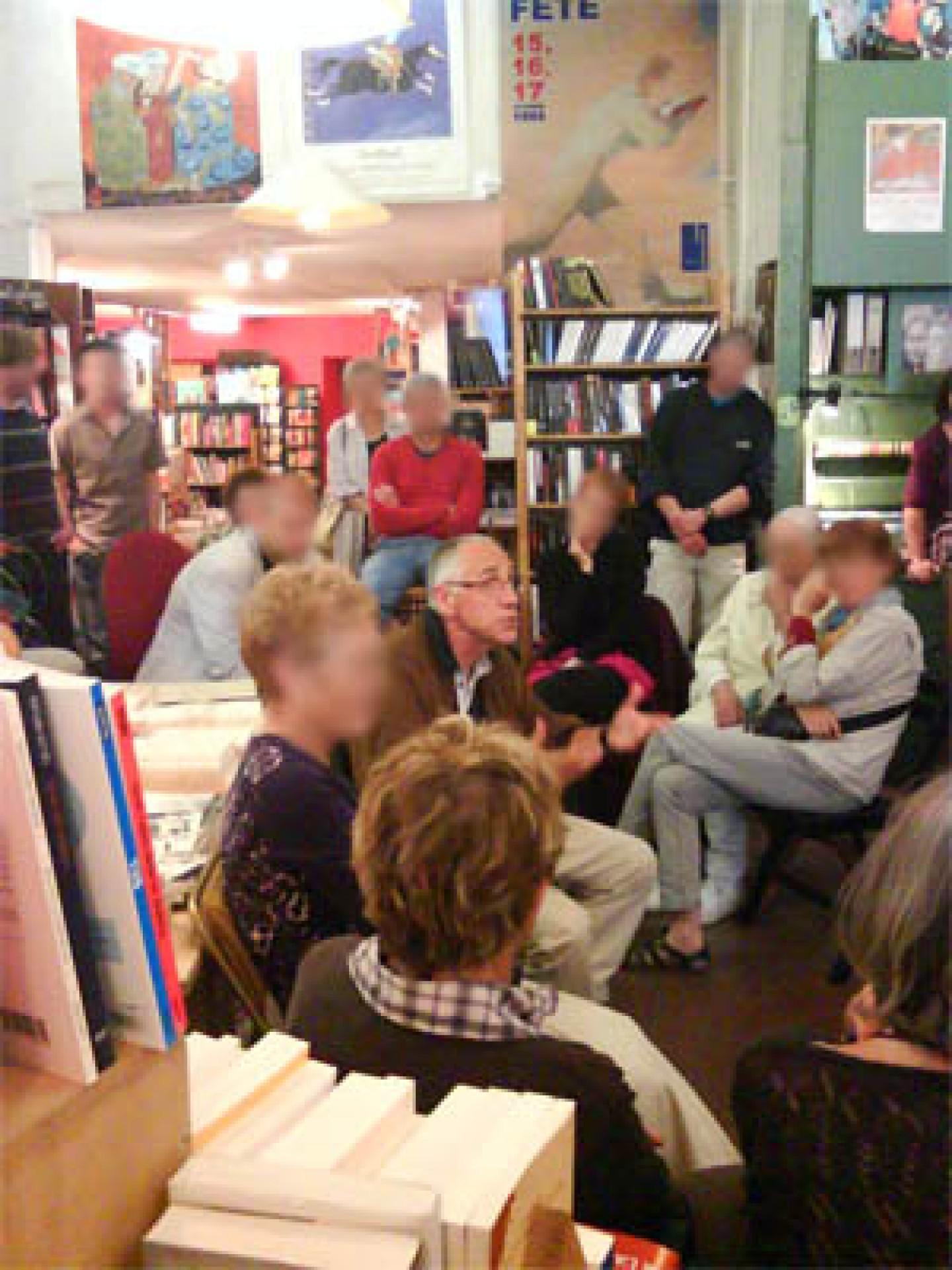 Rencontre avec René Frégni à la librairie La Ruelle à Digne les Bains