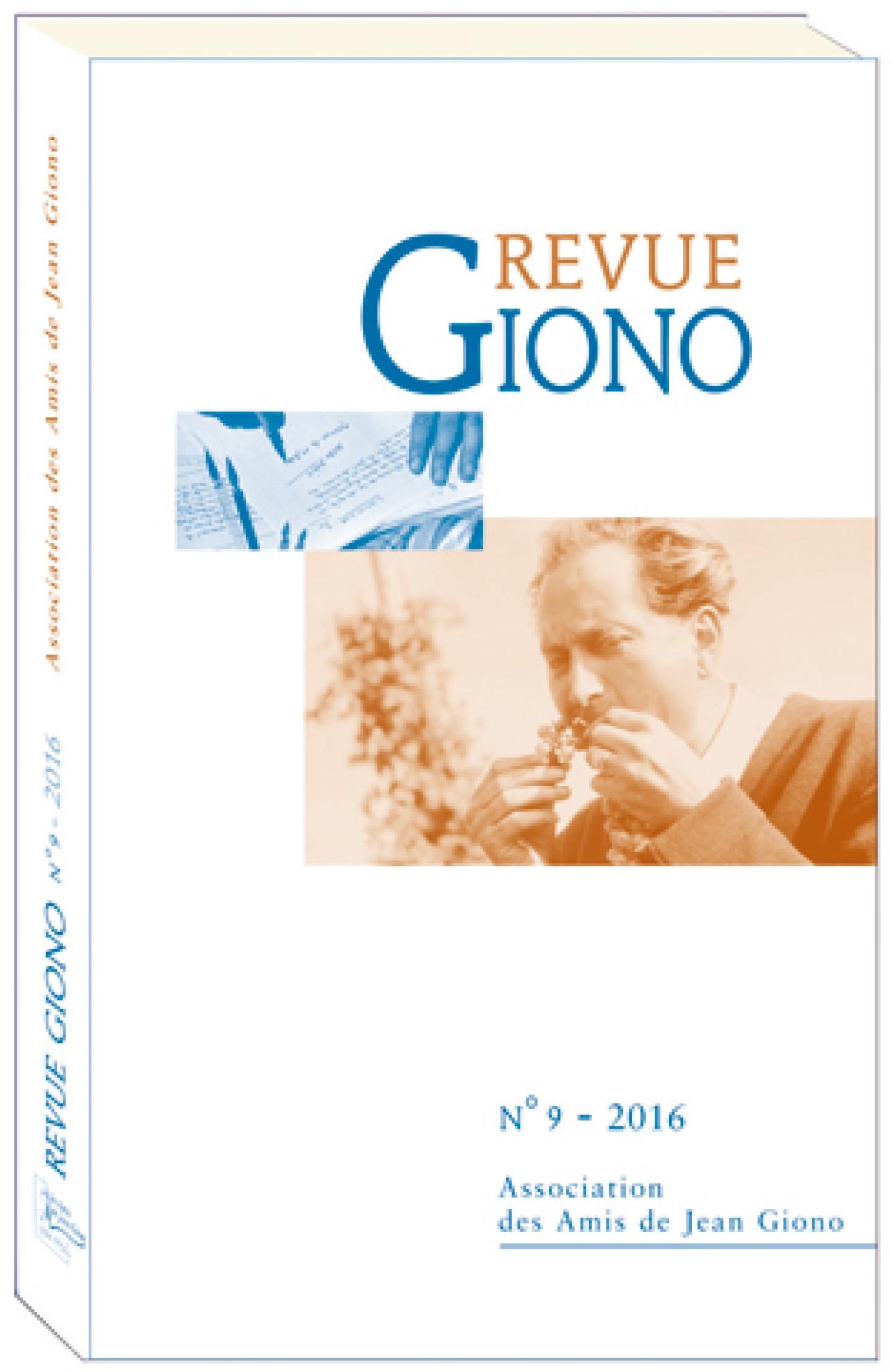 Revue Giono n°9 - 2016