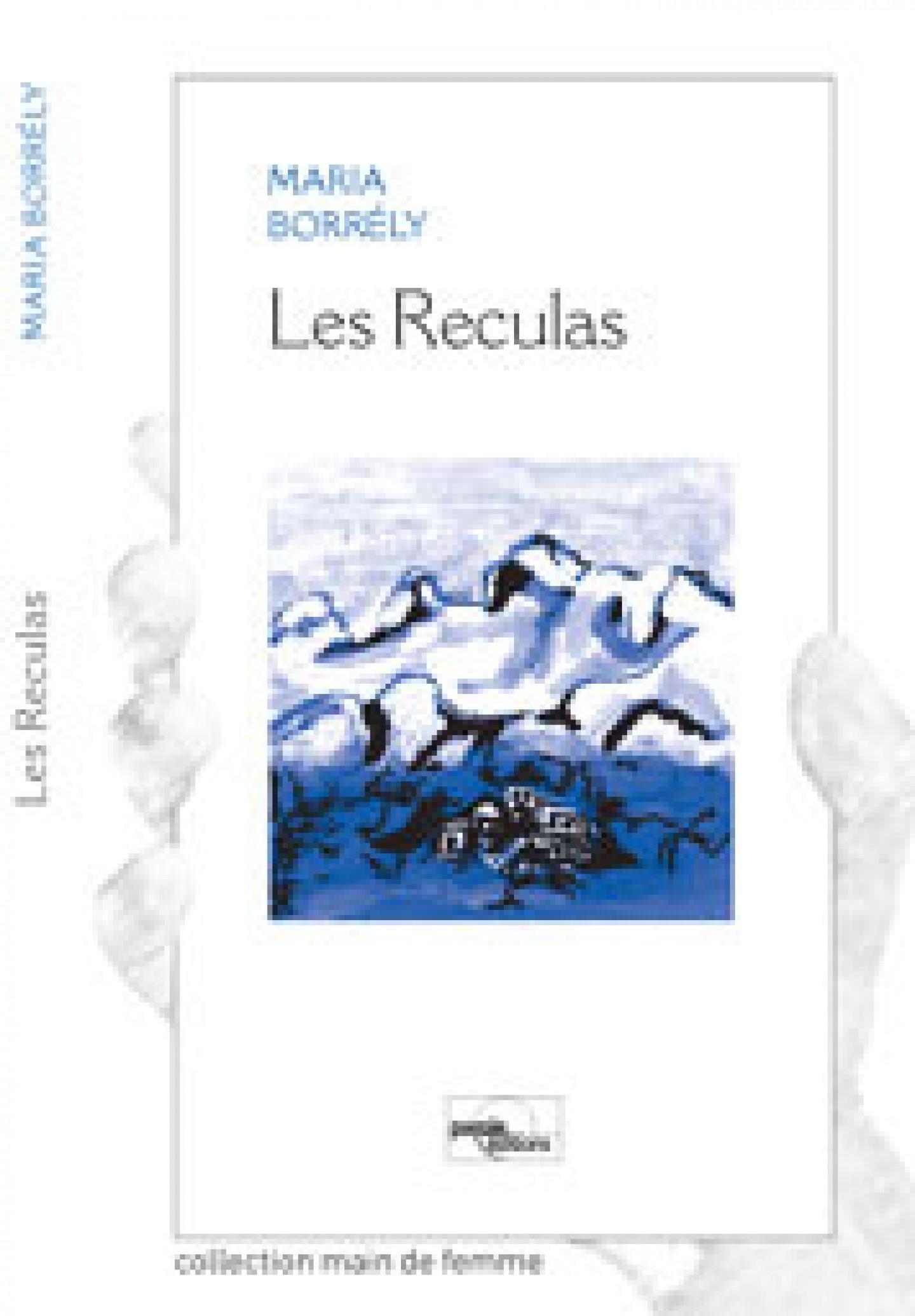 Couverture du roman Les Reculas de Maria Borrely