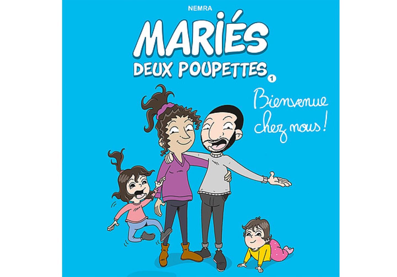 Mariés deux poupettes - T.1 : Bienvenue chez nous ! est une BD de Sophiane Nemra