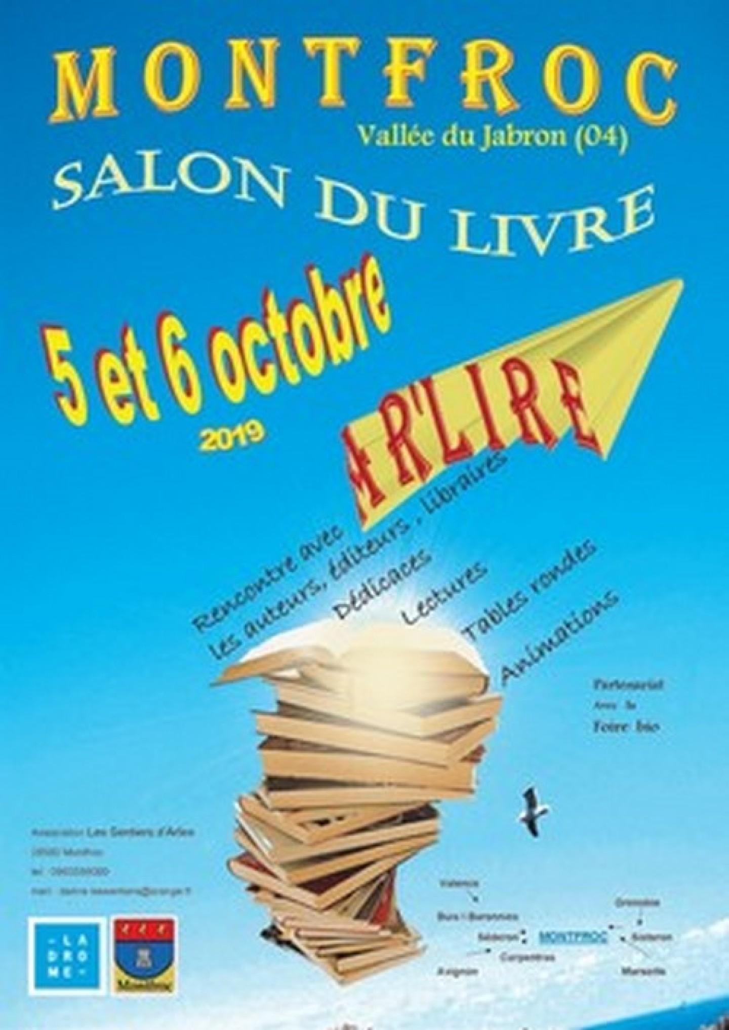 Festival Ar'lire 5 et 6 octobre 2019 à Montfroc