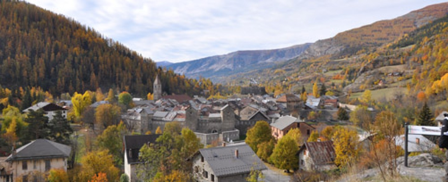 village de Colmars les Alpes