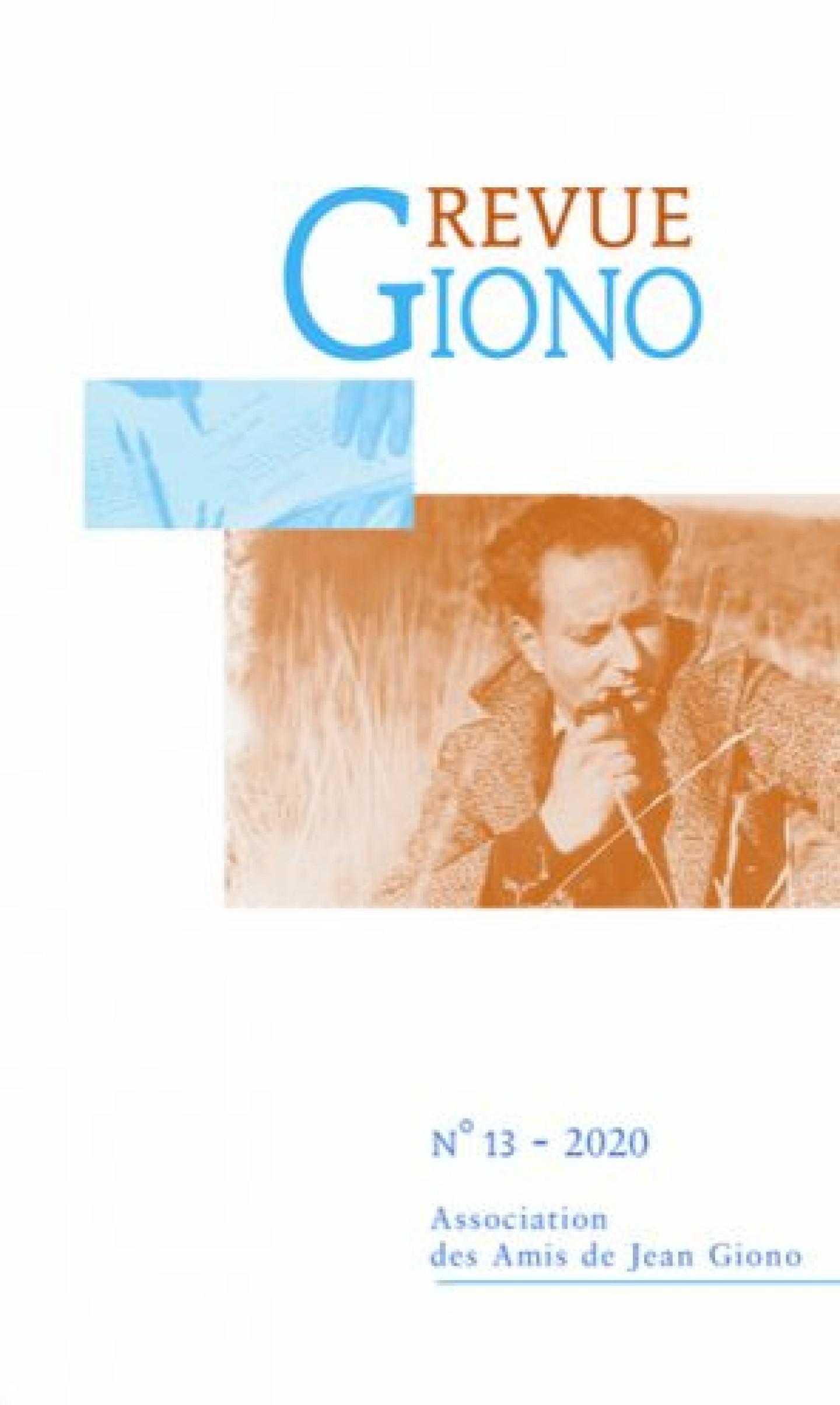 Revue Giono n°13 - 2020