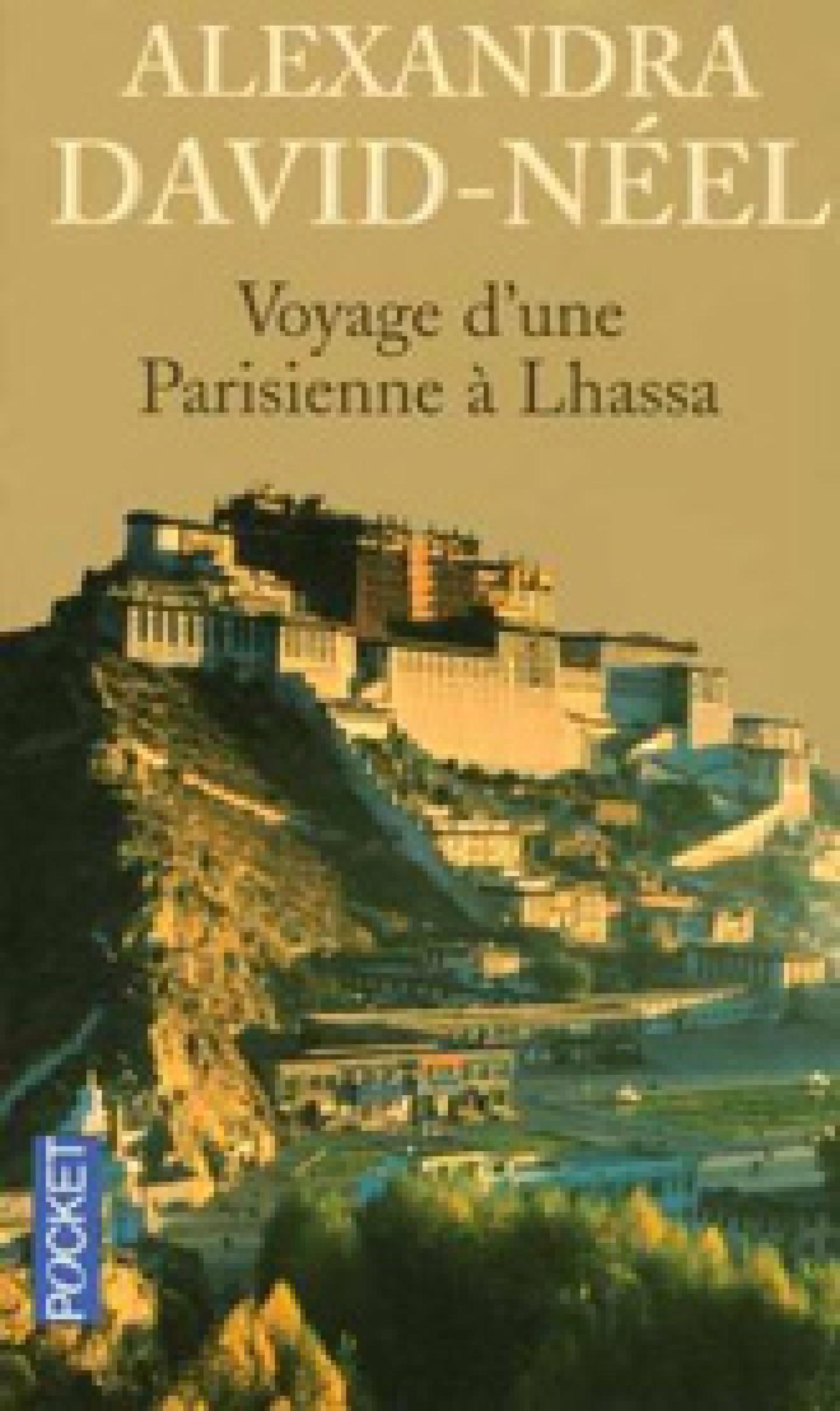 Couverture du livre Voyage d'une Parisienne à Lhassa - Alexandra David Neel